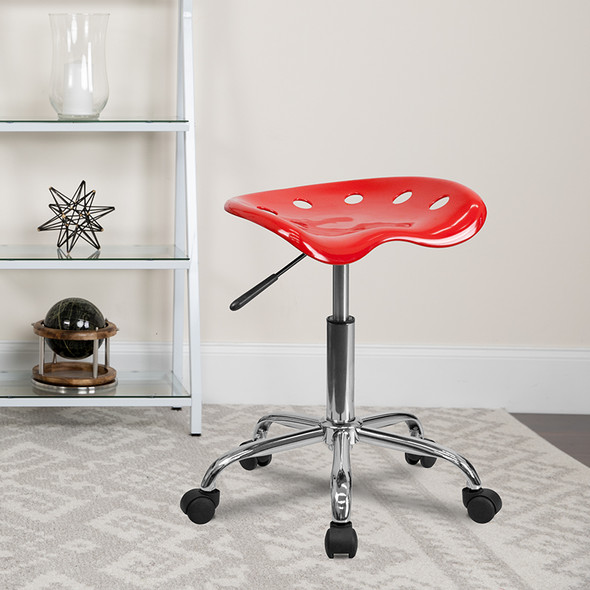 Red Tractor Stool