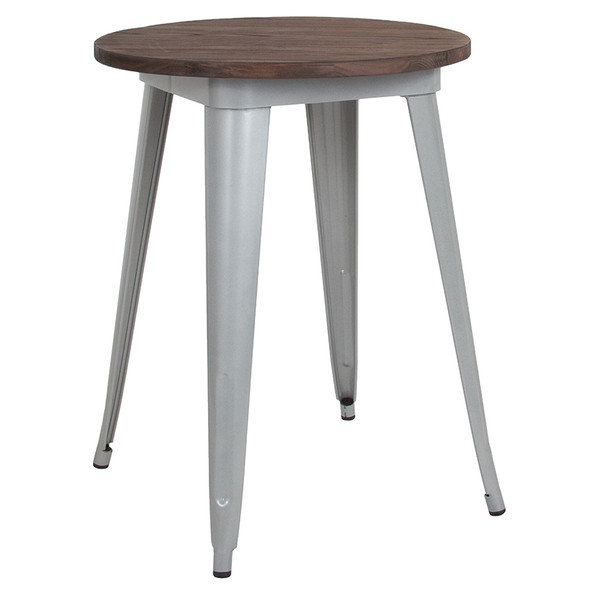 24rd Silver Metal Table