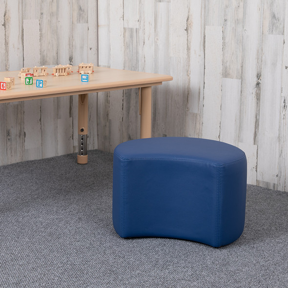 """12"""" Soft Seating Moon-blue"""