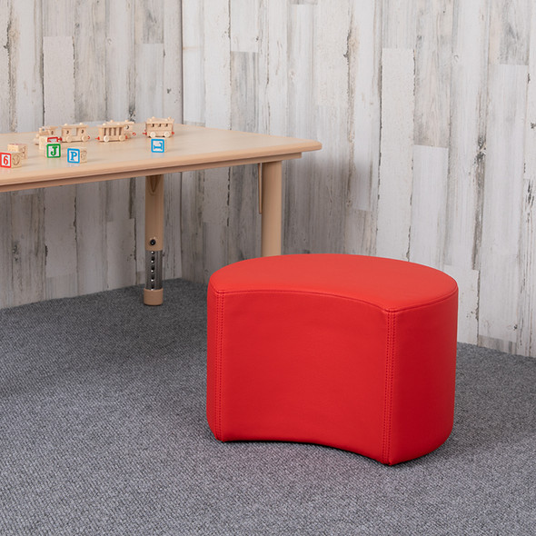 """12"""" Soft Seating Moon-red"""