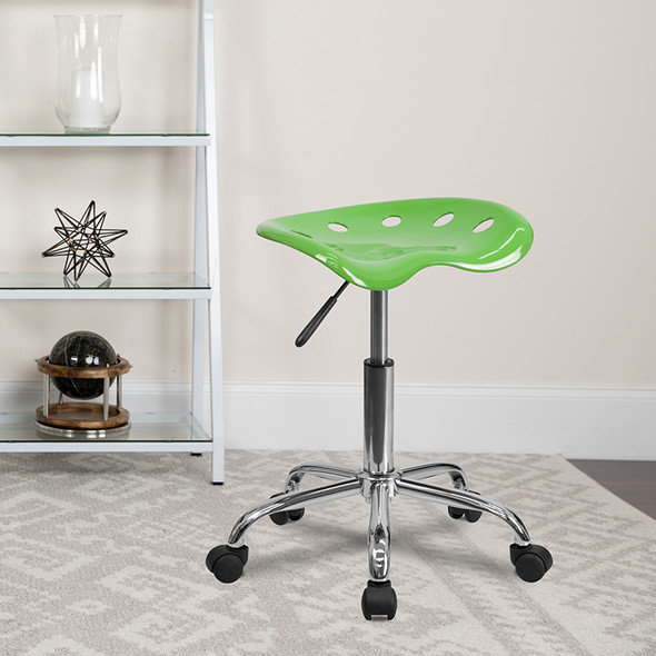 Spicy Lime Tractor Stool - FLLF-214A-SPICYLIME-GG