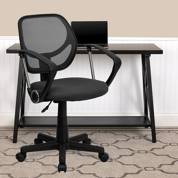 Gray Low Back Task Chair