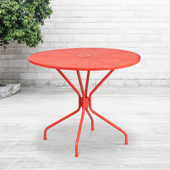 35.25rd Coral Patio Table