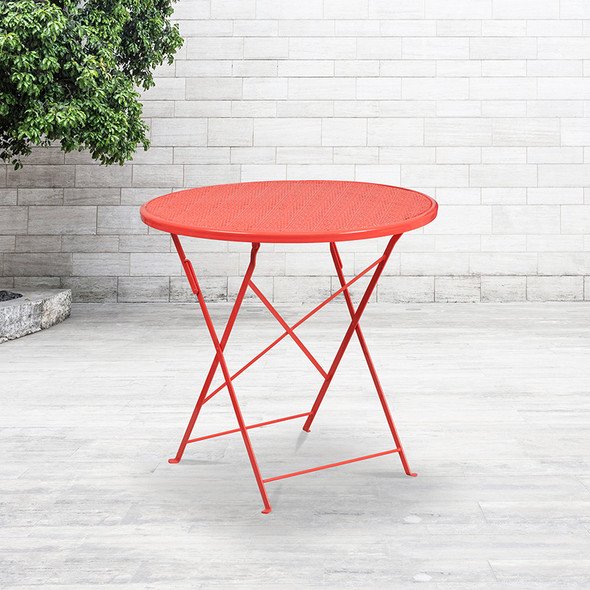 30rd Coral Folding Patio Table