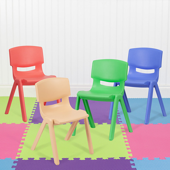 Assorted Plastic Stack Chairs