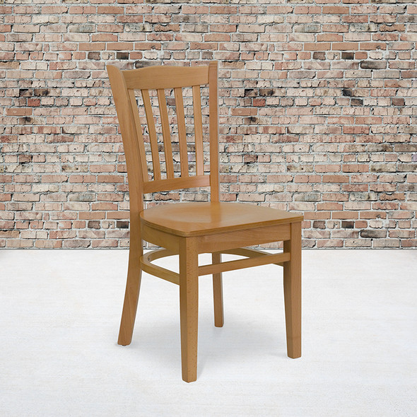 Natural Wood Dining Chair