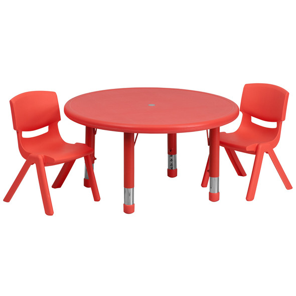 33rd Red Activity Table Set