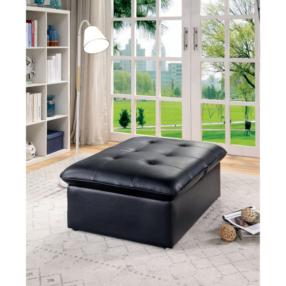 Vidence Contemporary Tufted Futon Chair
