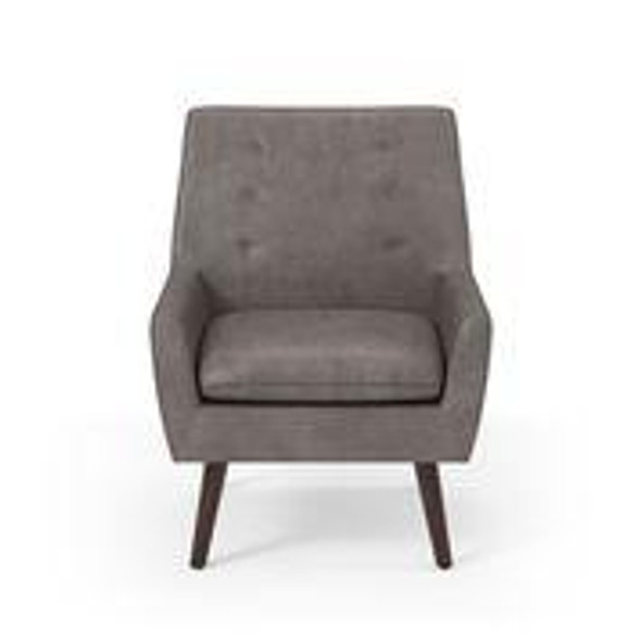 Tendry Contemporary Button Tufted Accent Chair