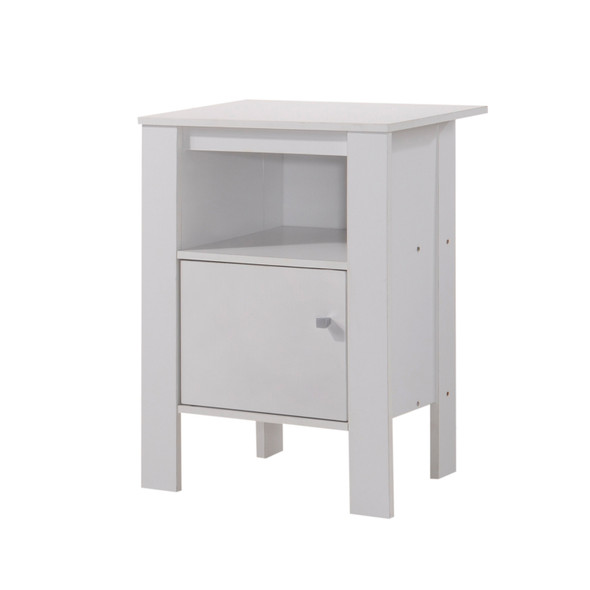 Donie Contemporary Multi-Storage End Table