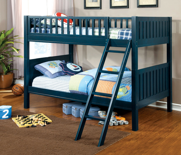 Galite Transitional Solid Wood Bunk Bed