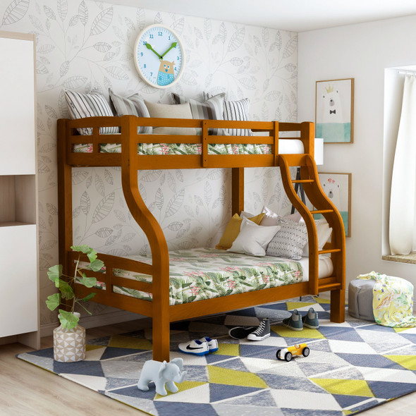 Mazza Transitional Solid Wood Bunk Bed