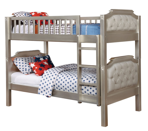 Esdee Transitional Solid Wood Bunk Bed