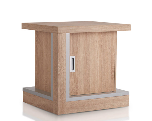 Farren Contemporary 1-Drawer End Table