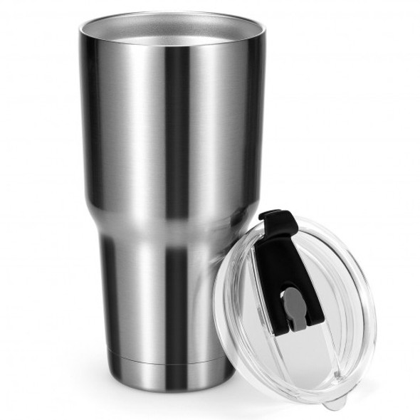 30oz Stainless Steel Tumbler Cup Double Wall Vacuum Insulated Mug with Lid