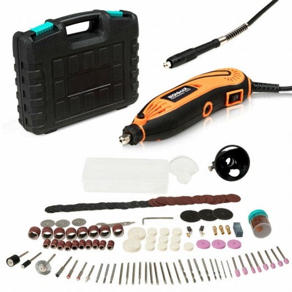 Electric Rotary Tool Kit Variable Speed 140 Pcs Accessories