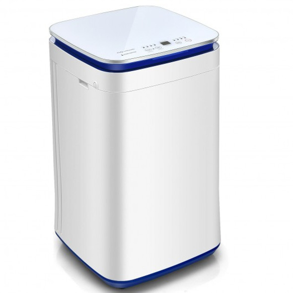 7.7 lbs Compact Full Automatic Washing Machine with Heating Function Pump