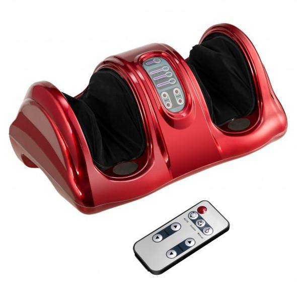 Shiatsu Foot Massager with Remote Control-Wine