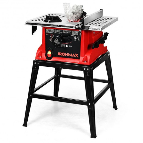 10 Aluminum Tabletop Table Saw Electric Cutting Machine