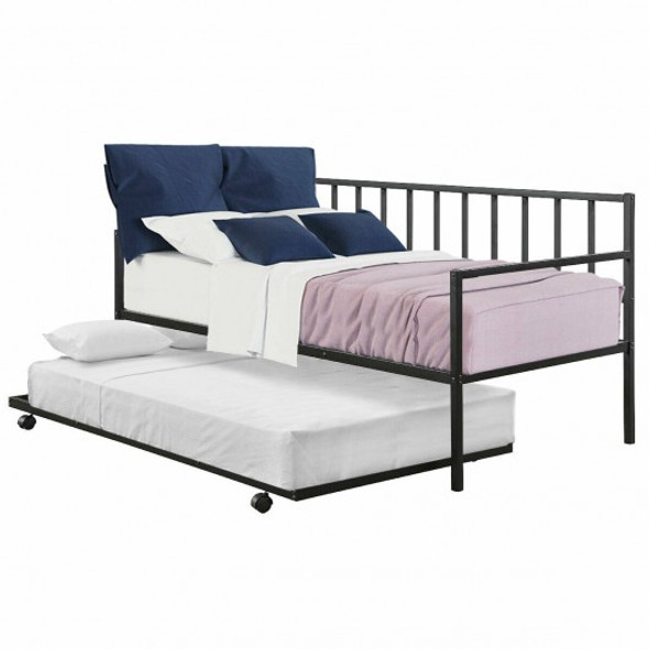 Twin Size Daybed and Trundle Frame Set Trundle Bedframe