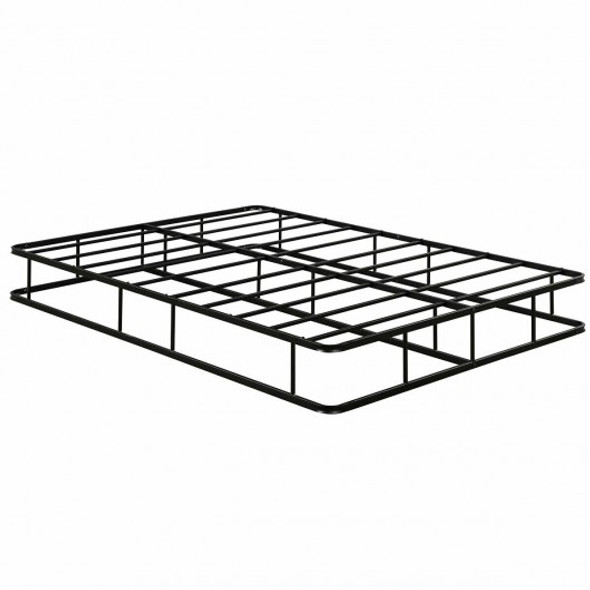9 Inch Platform Low Profile Bed Frame Steel Slat Mattress Foundation