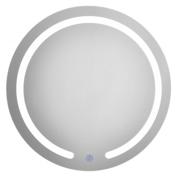 """20"""" LED Touch Button Wall Mount Bathroom Round Mirror - COBA7627US"""