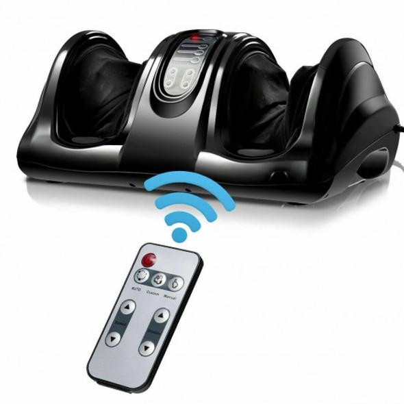 Shiatsu Foot Massager with Remote Control-Black