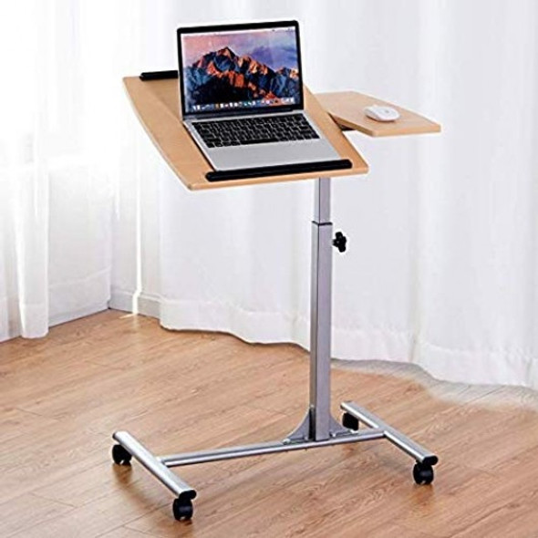 Adjustable Laptop Desk With Stand Holder And Wheels