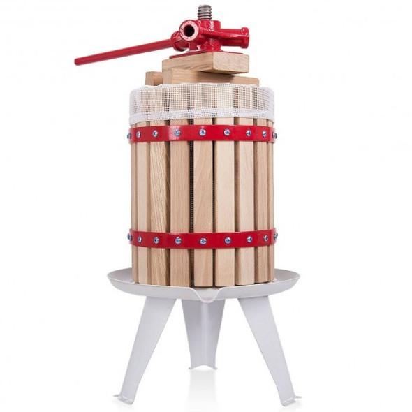 1.6 Gallon Fruit Wine Press Cider Juice Maker Tool
