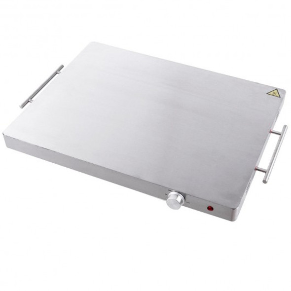 Stainless Steel Electric Warming Tray Food Dish Warmer - COKC52908US