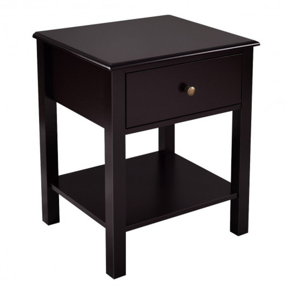 Brown Nightstand End Table - COHW53996CF