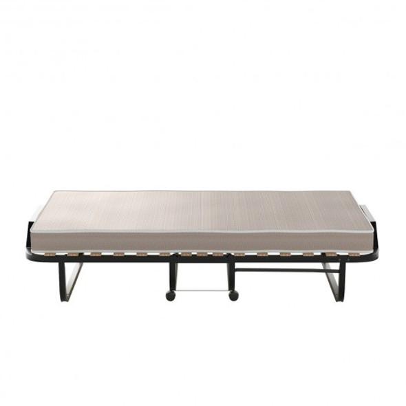 Rollaway Folding Bed with Memory Foam Mattress