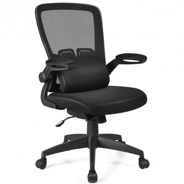 Ergonomic Desk Chair with Soft Pillow - COHW67210BK