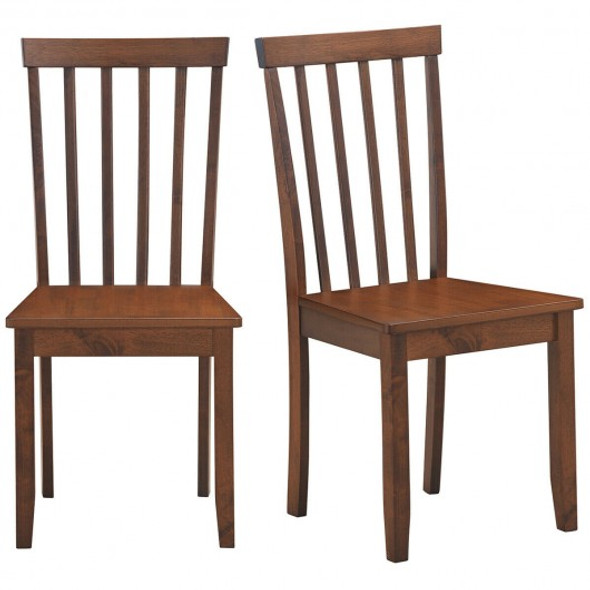 Set of 2 Dining Chair with Solid Wooden Legs - COKC52882