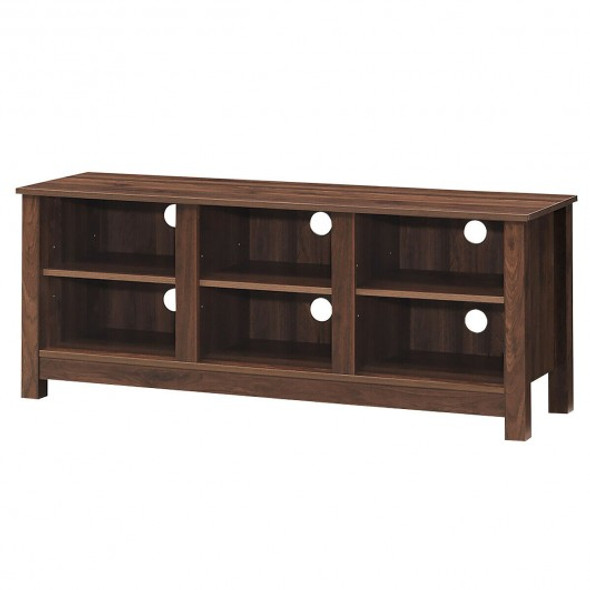 """60""""  Entertainment TV Stand Cabinet-Brown"""