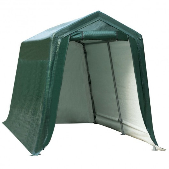 7' x 12' Outdoor Carport Patio Storage Shelter Shed Car Canopy