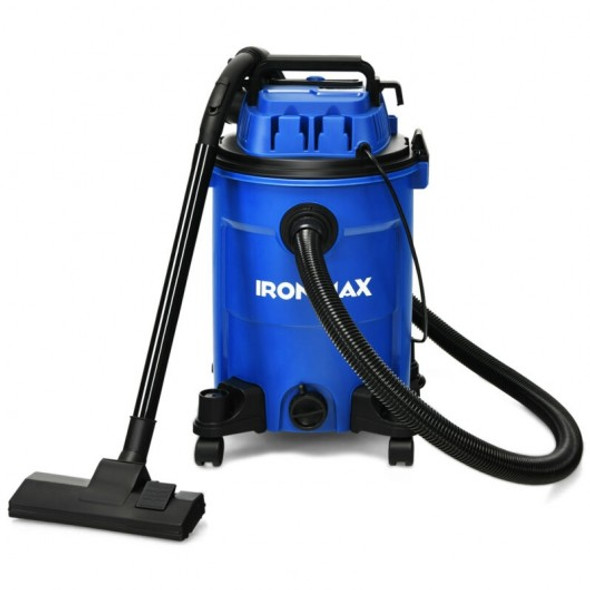 3 in 1 6.6 Gallon 4.8 Peak HP Wet Dry Vacuum Cleaner with Blower-Blue