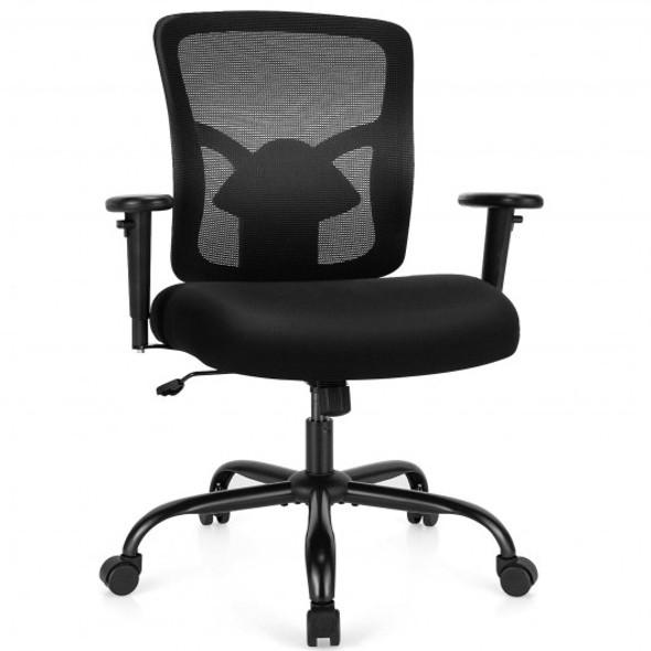 400LBS Mesh Big and Tall Office Chair Swivel Task Chair