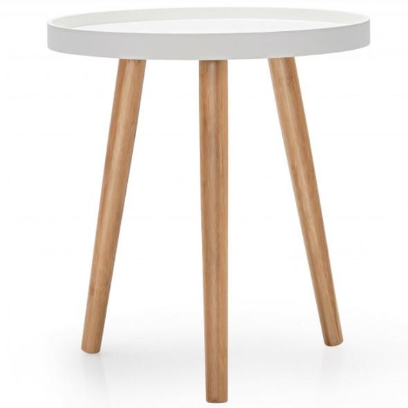 Round Side Sofa Coffee Table