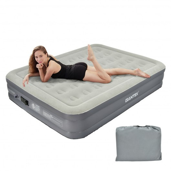 Portable Inflation Air Bed Mattress with Built-in Pump