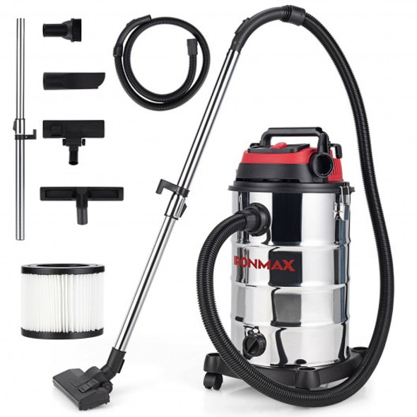 6 HP 9 Gallon Shop Vacuum Cleaner with Dry and Wet and Blowing Function