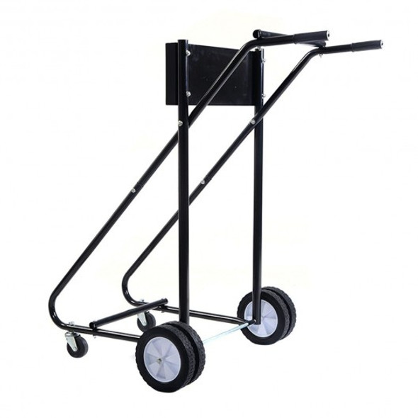 315 lbs Outboard Heavy Duty Boat Motor Stand Carrier Cart Dolly