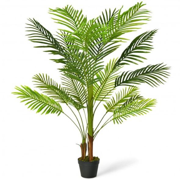 4.3 Ft Indoor Artificial Phoenix Palm Tree Plant