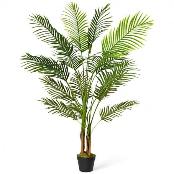 5 Ft Indoor Artificial Phoenix Palm Tree Plant