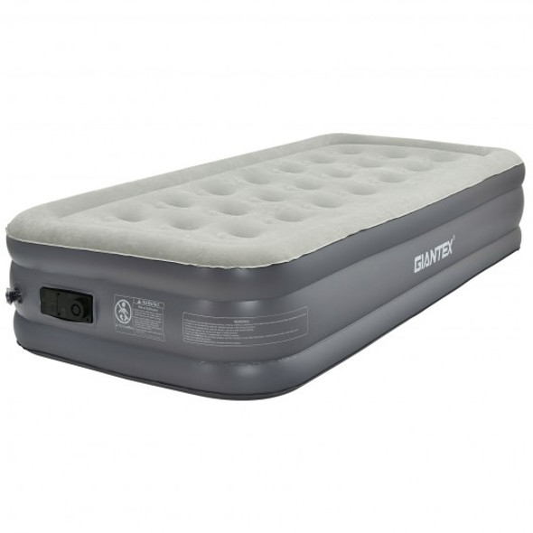 Portable Fast Inflation Air Bed with Built-in Pump for Home Camping