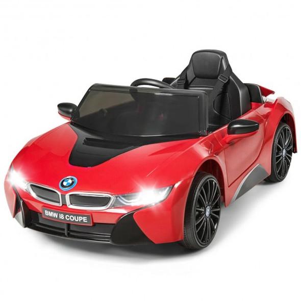 12V Licensed BMW I8 Kids Ride On Car-Red