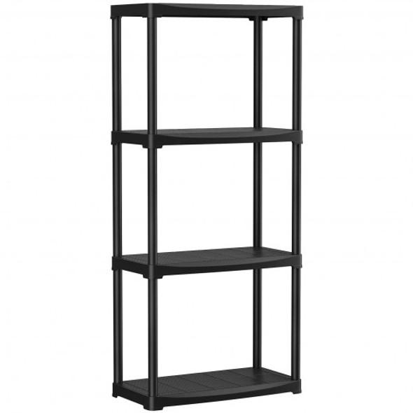 24'' x 12'' x 52.5'' 4-tier Storage Shelf Rack for Garage Kitchen