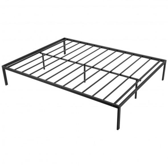 Heavy Duty Metal Platform Bed Frame-Queen Size
