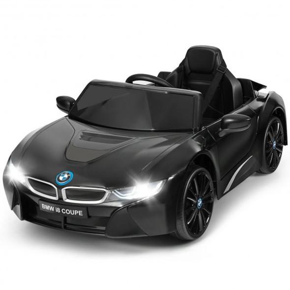 12V Licensed BMW I8 Kids Ride On Car-Black