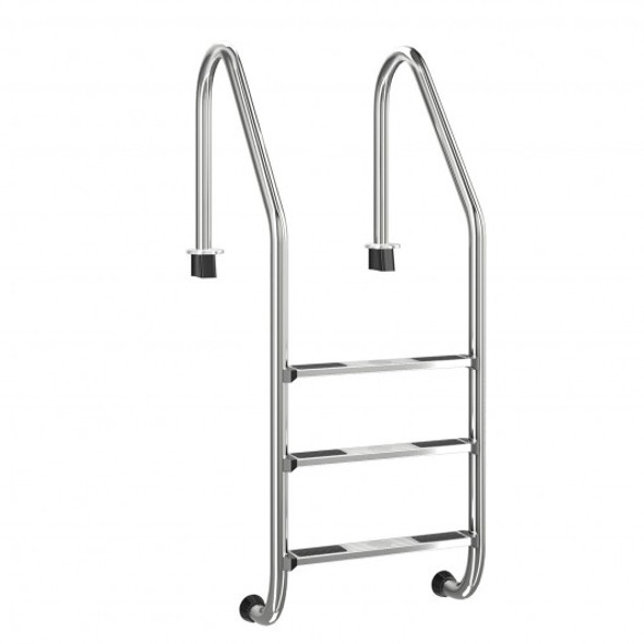 3 Step Stainless Steel Swimming Pool Ladder Handrail for Pool